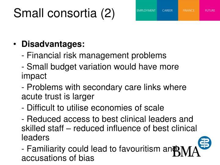 Small consortia (2)