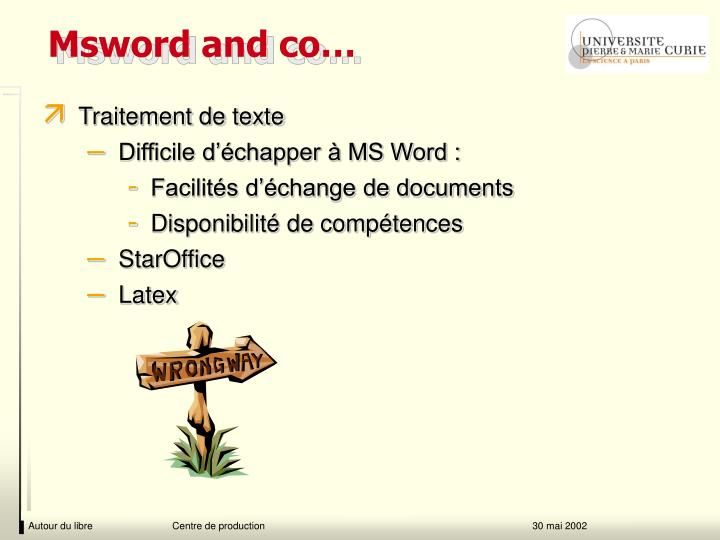 Msword and co…