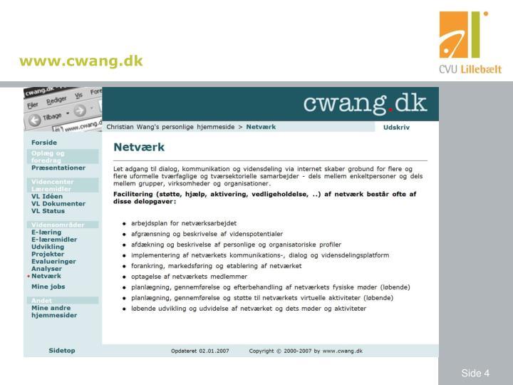 www.cwang.dk