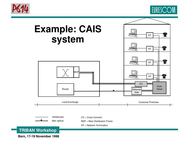 Example: CAIS system