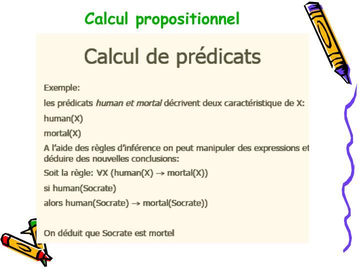Calcul propositionnel
