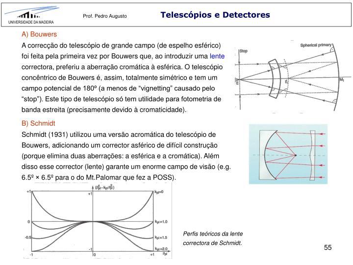 Telescópios e Detectores