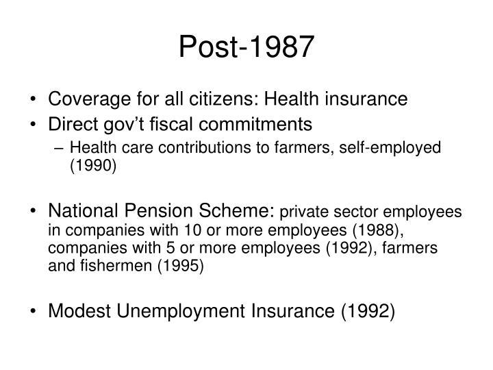 Post-1987