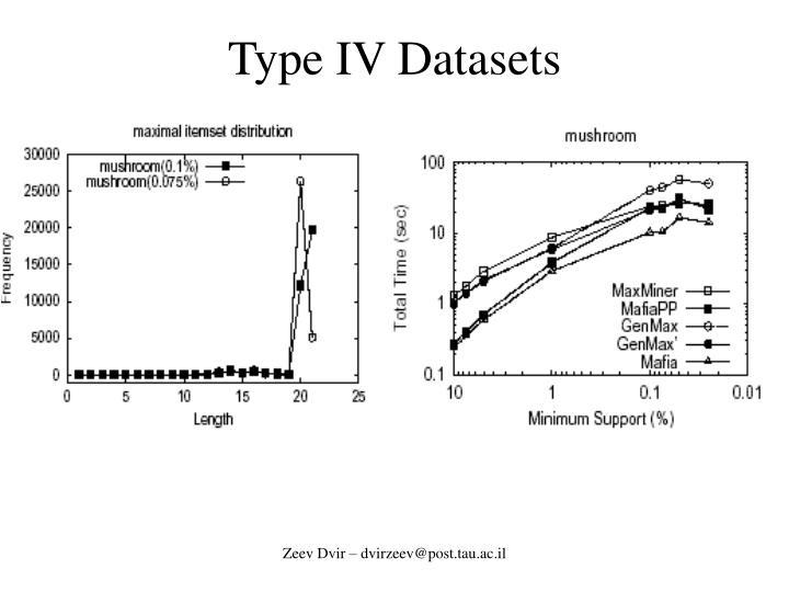 Type IV Datasets