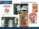 the everyman theatre archive