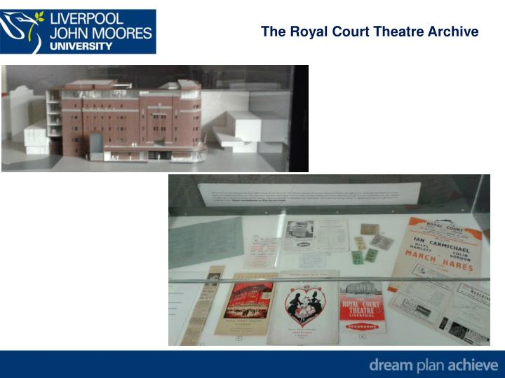 The Royal Court Theatre Archive