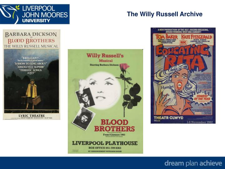 The Willy Russell Archive