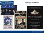 the willy russell archive2