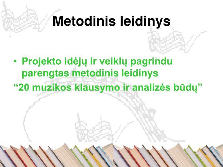 Metodinis leidinys