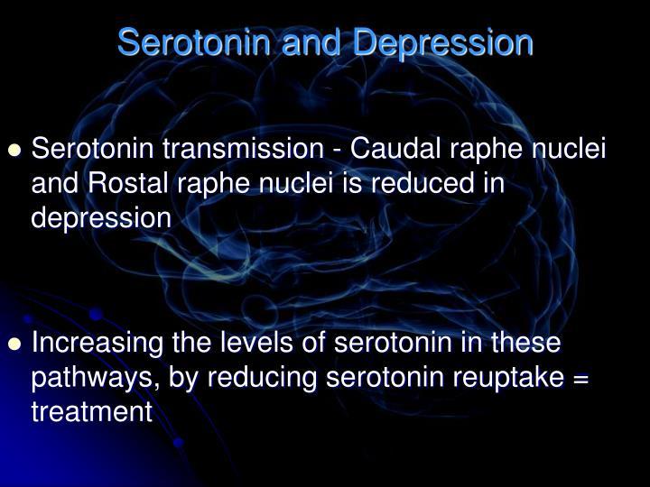 Serotonin and Depression