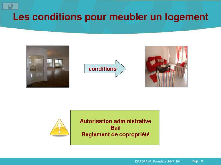 Ppt formation lmnp powerpoint presentation id 4204069 - Meubler un appartement ...