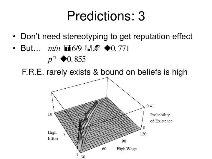 Predictions: 3