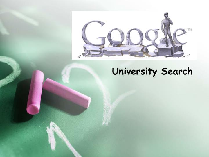 University Search