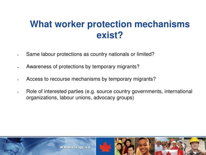 What worker protection mechanisms  exist?