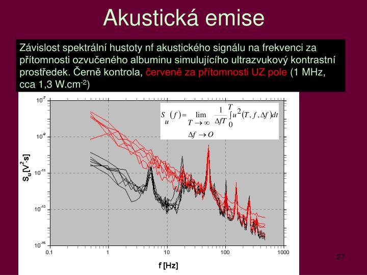 Akustická emise