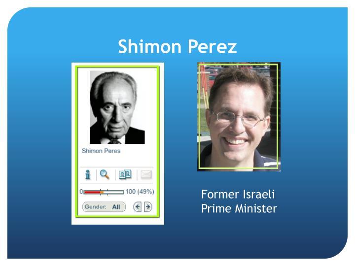 Shimon Perez