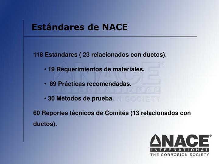Estándares de NACE