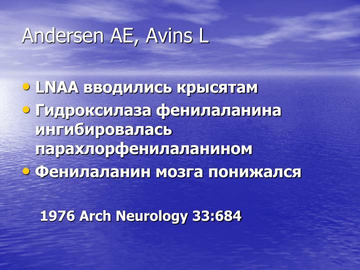 Andersen AE, Avins L