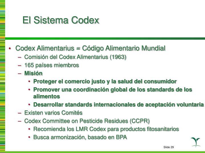 El Sistema Codex