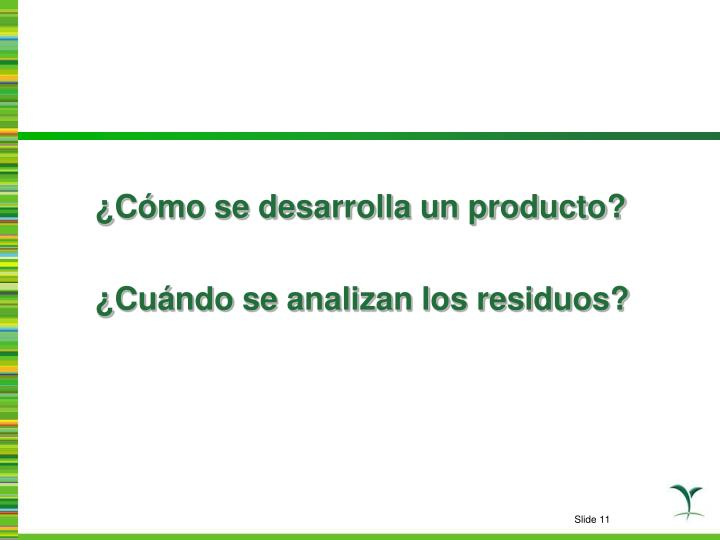 ¿Cómo se desarrolla un producto?