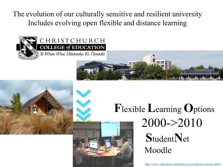 The evolution of our culturally sensitive and resilient university