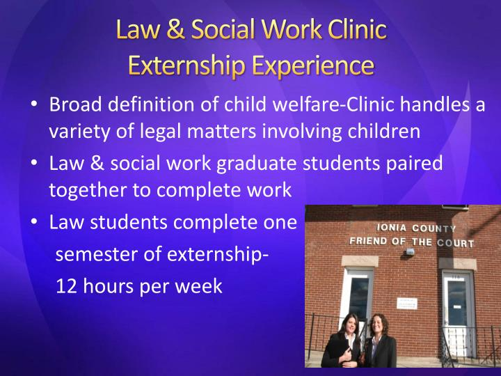 Law & Social Work Clinic