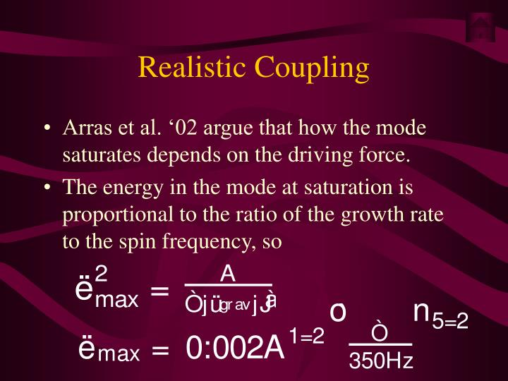 Realistic Coupling