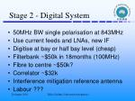 stage 2 digital system