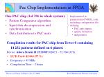 pac chip implementation in fpga