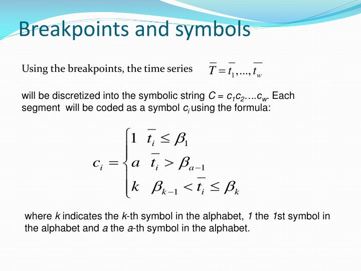 Breakpoints and symbols