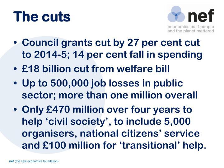 The cuts