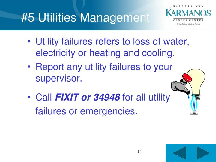 #5 Utilities Management