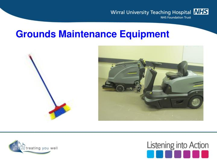 Grounds Maintenance Equipment