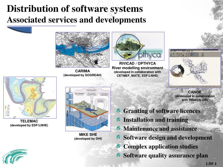Distribution of software systems