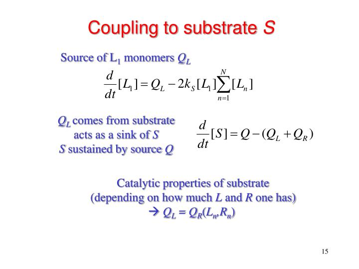 Coupling to substrate