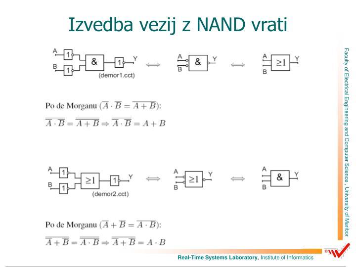 Izvedba vezij z NAND vrati