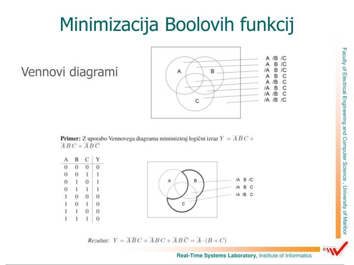 Minimizacija Boolovih funkcij