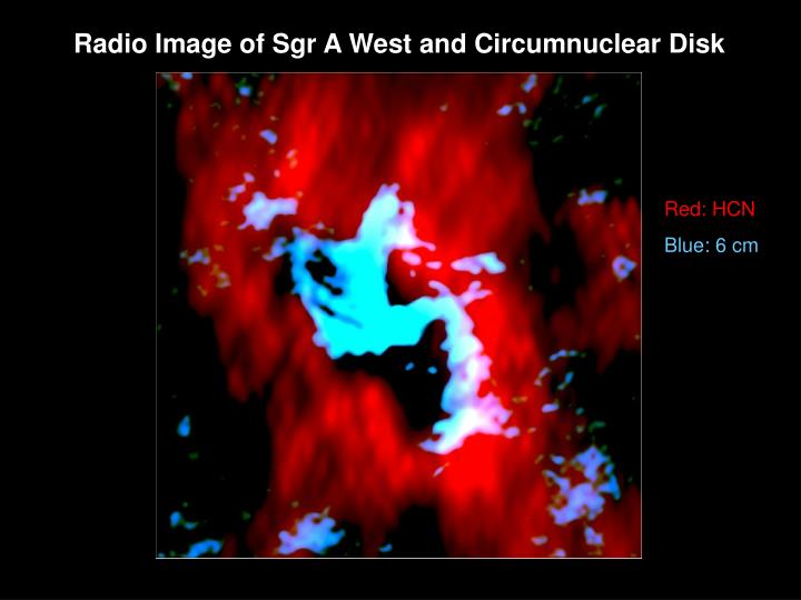 Radio Image of Sgr A West and Circumnuclear Disk