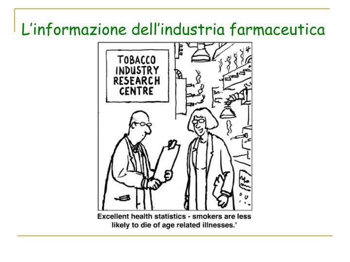 L'informazione dell'industria farmaceutica