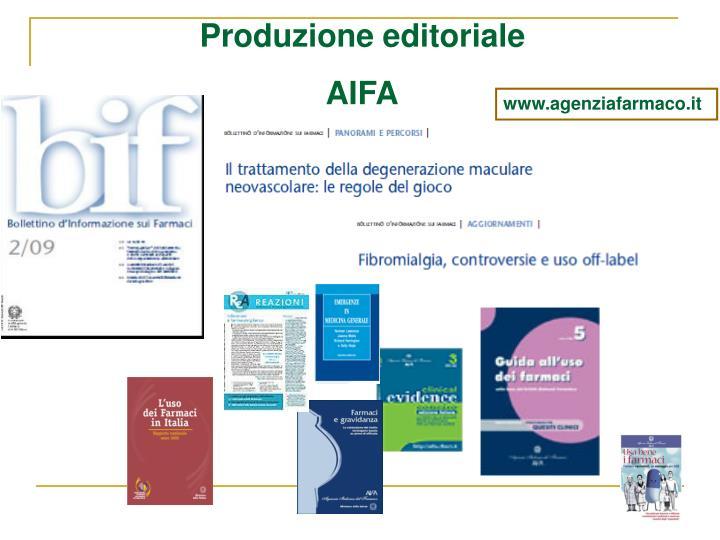 Produzione editoriale