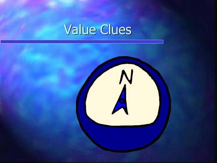Value Clues
