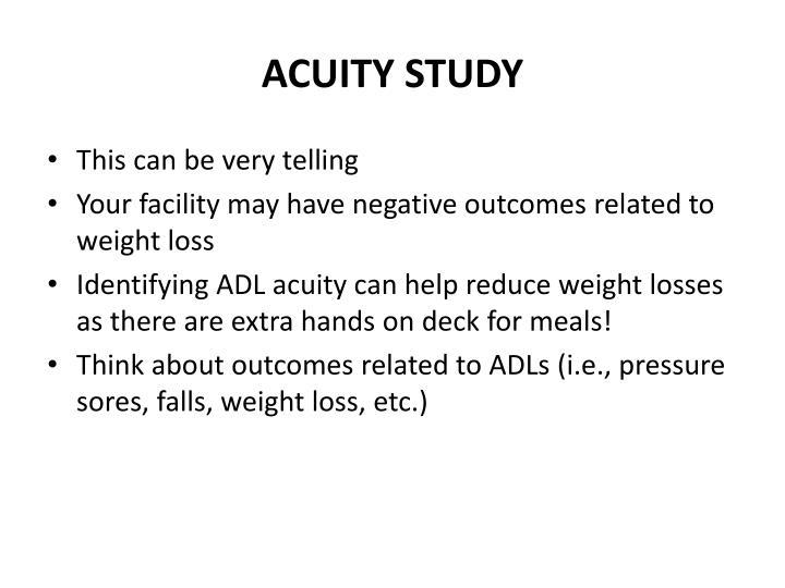 ACUITY STUDY