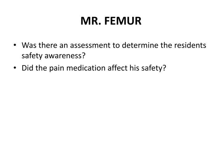 MR. FEMUR
