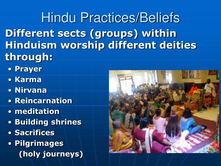 Hindu Practices/Beliefs
