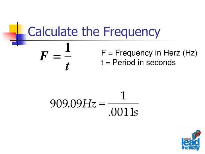 Calculate the Frequency
