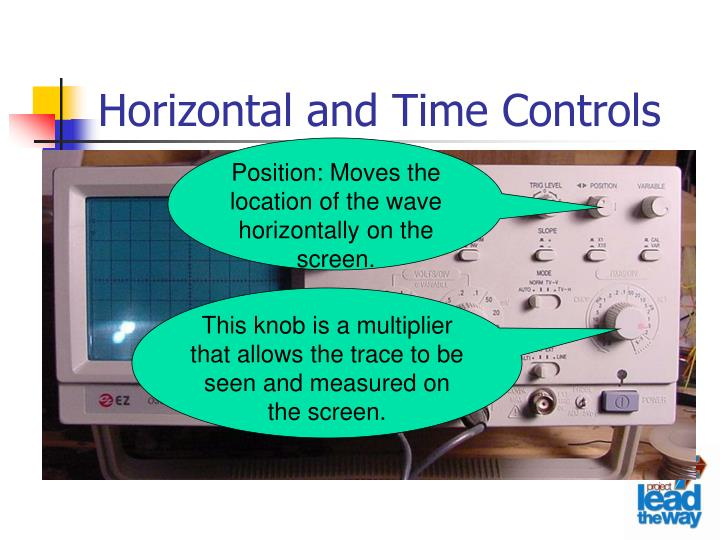 Horizontal and Time Controls