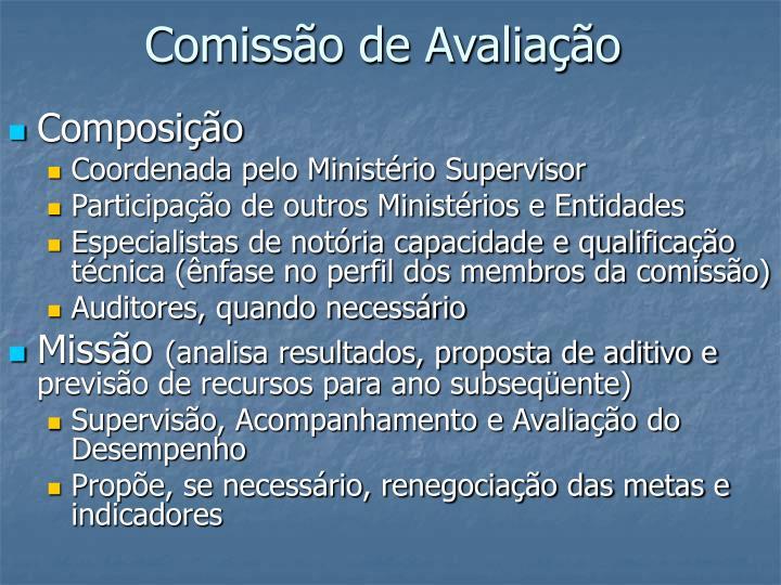 Comissão de Avaliação