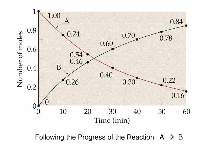 Following the Progress of the Reaction   A