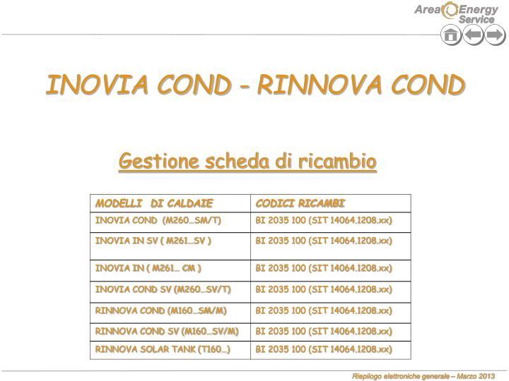 INOVIA COND - RINNOVA COND