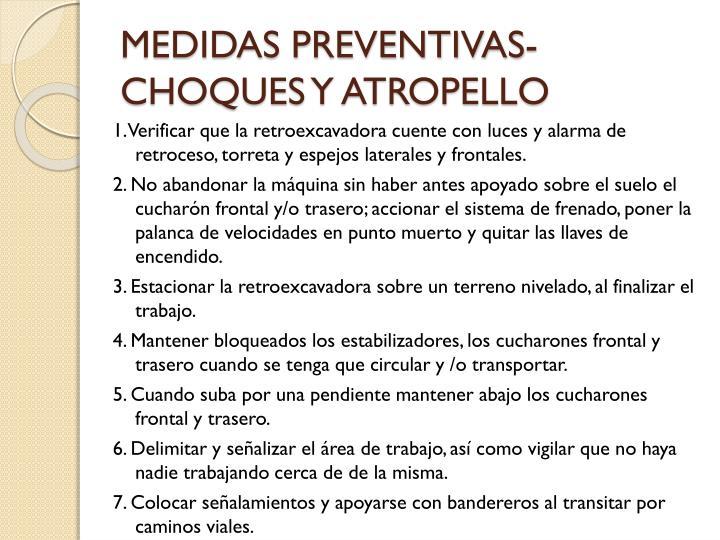 MEDIDAS PREVENTIVAS-